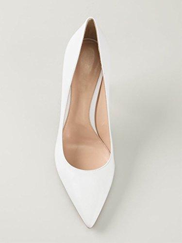 Escarpins EDEFS Talons Hauts white fermé Pointu Chaussures à Soiree Bureau Bout Femme Classique dnrgUr