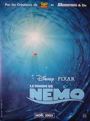 Amazon finding nemo original french movie poster 47 x 69 finding nemo original french movie poster 47quot altavistaventures Gallery