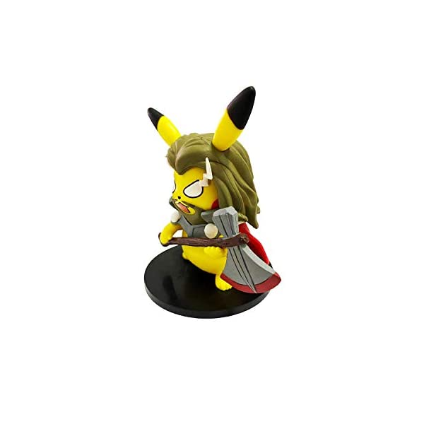 Superhero Pikachu Role Playing Series Toy Models Can Be Collected Lei Dahan