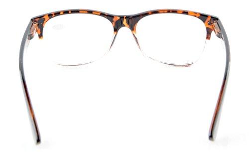 Eyekepper occhiali di qualità Cardini a molla uomo donna Tortoiseshell-Clear S7sufpWEG