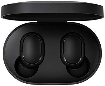 Xiaomi Mi True Wireless Earbuds Basic - Auriculares inalámbricos, Bluetooth con verdadero sonido estéreo con micrófono, Negro Cómo emparejar los auriculares Cómo restablecer los auriculares