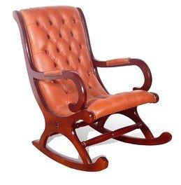 Designer Sofas4u Chesterfield York Schaukelstuhl Old English