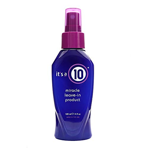 It's a 10 Haircare Miracle Leave-In Product, 4 fl. oz. (Its A Curl Leave In Conditioner)