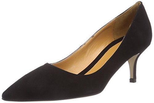 CAFèNOIR Decolleté Damen Pumps Schwarz (010 NERO)