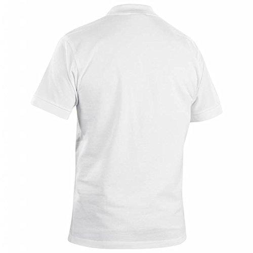Blakläder 330510351000s polo-shirt Größe S weiß