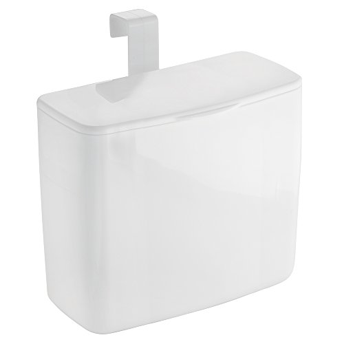 InterDesign Una Tampon Holder For Bathroom, Over Cabinet Or Over Toilet Tank Storage For