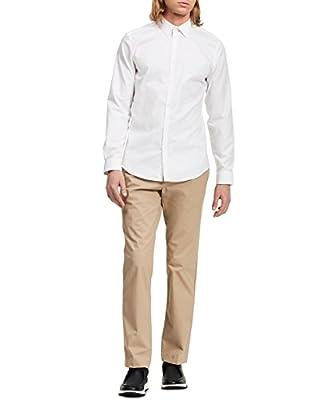 Calvin Klein Men Chino Twill Pants, Classic Khaki, 38W 30L