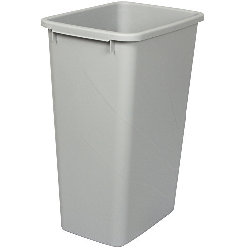 Knape & Vogt QT50PB-P Replacement Trash Can, 21.56-Inch by 15.55-Inch by 11.13-Inch
