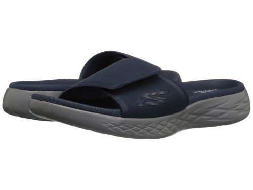 シンプルさはっきりしない不調和SKECHERS Performance(スケッチャーズ) メンズ 男性用 シューズ 靴 サンダル フラット On-The-Go 600 - Regal - Navy [並行輸入品]