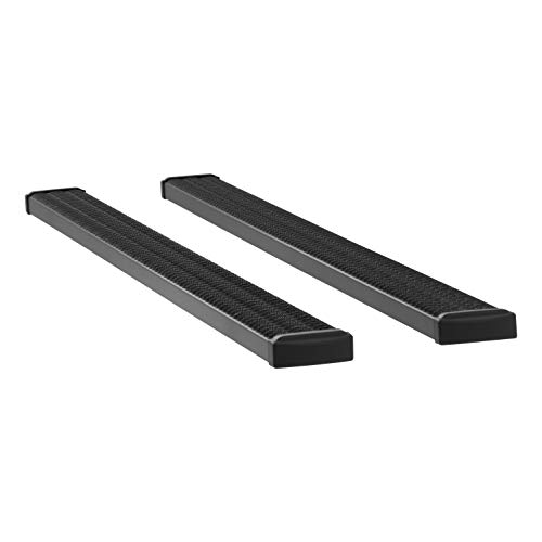 LUVERNE 415098-401475 Grip Step Black Aluminum 98-Inch Cargo Van Running Boards for Select Ram ProMaster 1500, 2500, 3500