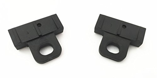 2005-2014 Toyota Tacoma Window Door Glass Channel Clips (Power& Manual) W/ Tip 2-SS