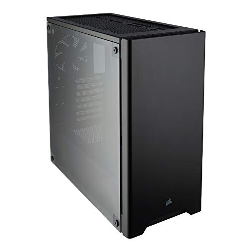 CORSAIR Carbide 275R Mid-Tower Gaming Case, Window Side Panel- Black