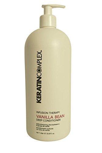 Coppola Keratin Complex Vanilla Bean Deep Conditioner with Keratin, 33.8 -