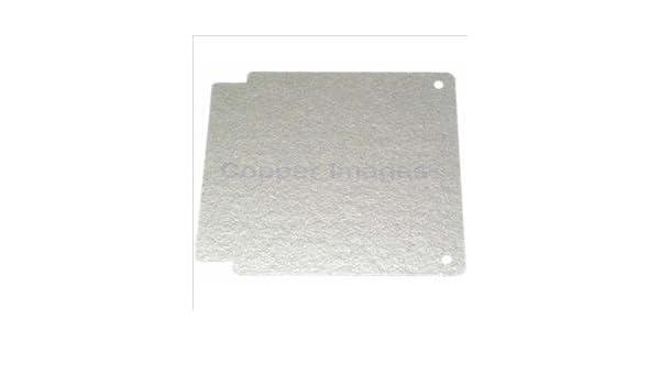 Guía para microondas, diseño de placa de mica para ...