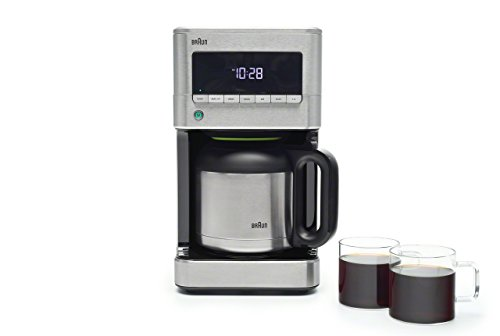 Braun Kf7175 Brew Sense Thermal Drip Coffee Maker