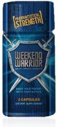 Weekend Warrior Male Enhancement Pill 3 Count Promotion bouteille spéciale incroyable force, l'endurance et de l'énergie