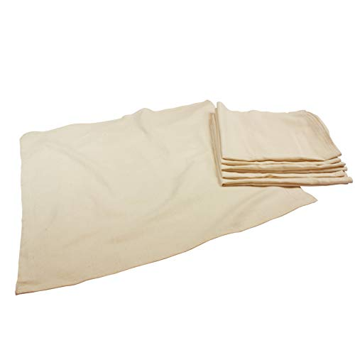 OsoCozy 6 Pack Birdseye Flat Unbleached Diapers