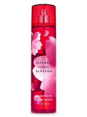 Bath & Body Works Japanese Cherry Blossom for Women Fine Fragrance Mist, 8 Ounce from Bath & Body Works