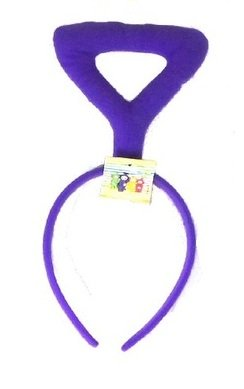 Teletubbies Tinky Winky Antenna Headband - One size fits all - Purple Teletubby