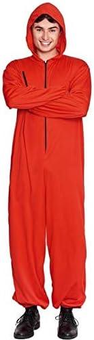 Partylandia Disfraz de Buzo Atracador Rojo - Unisex, S: Amazon.es ...