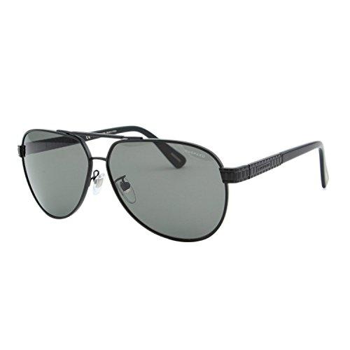Chopard Classic L.U.C SCH-B28 531P Men Matte Black Polarized Aviator - Chopard Sunglasses
