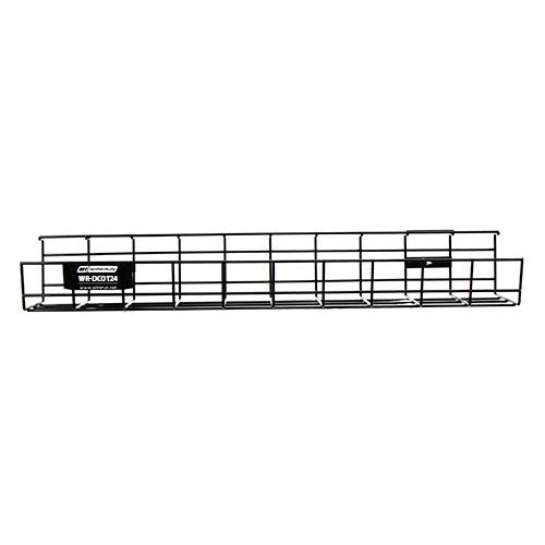 WireRun  Under Desk Wire Mesh Cable Organizer 24in ,1,24 Inch  (Wire Mesh Cable Tray)