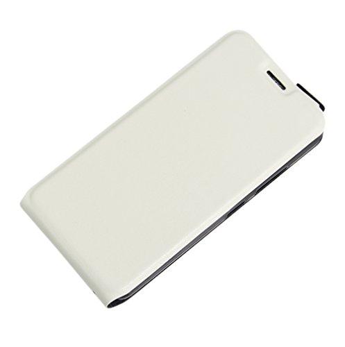 Funda Lenovo Vibe C(A2020),Manyip Caja del teléfono del cuero,Protector de Pantalla de Slim Case Estilo Billetera con Ranuras para Tarjetas, Soporte Plegable, Cierre Magnético E