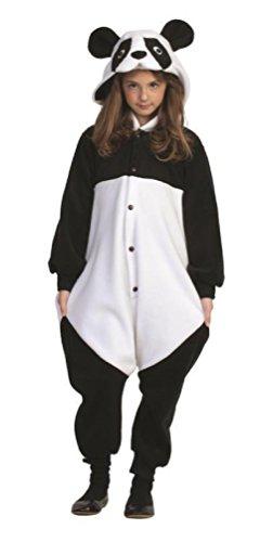 OvedcRay Parker The Panda Bear Child Kung Fu Black White Animal Pajamas Costume Jumpsuit
