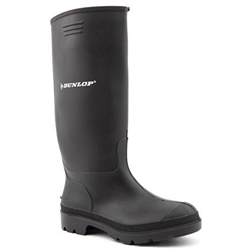 femme Noir Dunlop Bottes Pricemaster caoutchouc en pour IIOCw1q