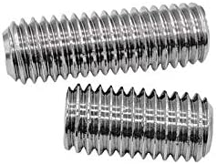 Dimensioni : M8, Lunghezza : 6mm BOJI Thumb Screw Stainless Steel Hexagon Bolt M8