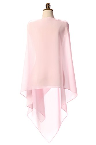 ORoa Women Chiffon Wrap Scarf Shawl for Bridal Evening Wedding Prom Party Soft Many Colors Available, On Sale for Women Teen Girls College Students, Wholesale Chiffon Scarves
