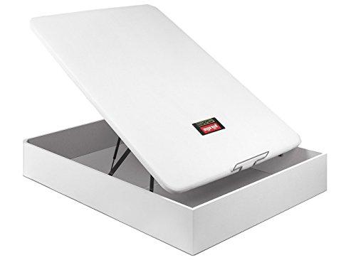 PIKOLIN CANAPE ABATIBLE NATURBOX Madera 3D - (150_x_190_cm, Blanco)