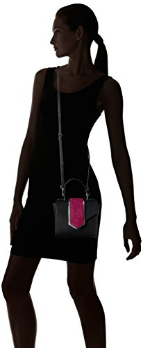 The Fix Love Mini Top Handle Crossbody Bag, Black