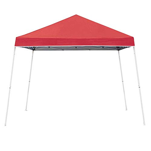 Z-Shade 10 x 10 Angled Leg Instant Shade Canopy Tent, Red