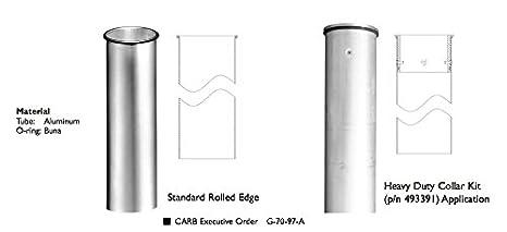 EMCO WHEATON A0020-005 Drop Tube Aluminum 4 x 15 5
