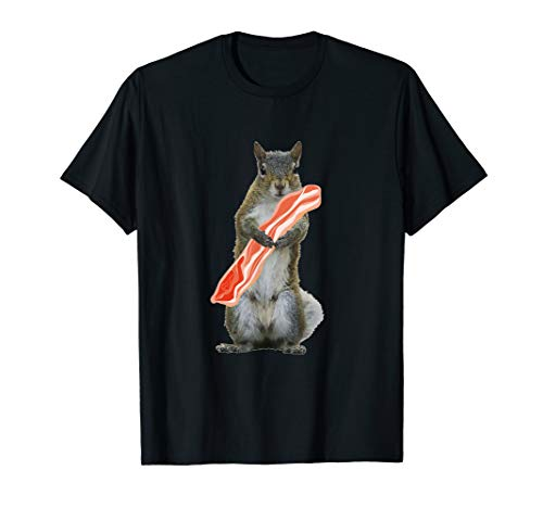 I love squirrels and bacon T-shirt