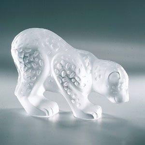 Lalique Crystal Colombo Jaguar