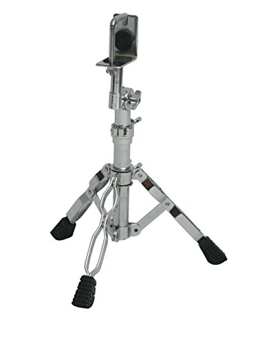 Tycoon Percussion Chrome Plated Seated Bongo (Seated Bongo Stand)