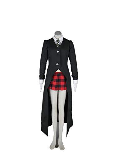 Love Halloween Anime Cosplay Costume Uniform-Maka Albarn 6Pcs Set