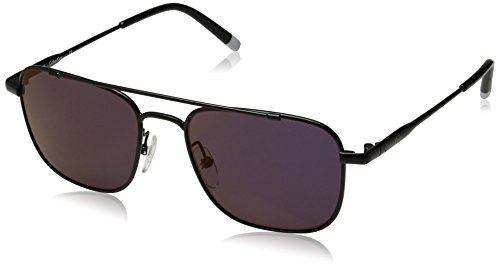 Calvin Klein Unisex Ck2150s Navigator Aviator Sunglasses, Matte Black, 53 mm by Calvin Klein
