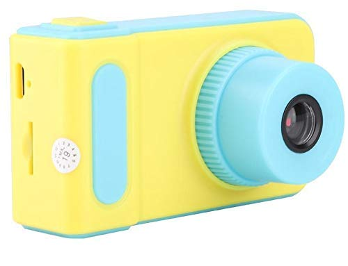 HALO NATION Kids Digital Camera Cute X1 1080P HD Video Action Camcorder with Loop Recording & Digital Photography & 2 inch Screen – Mini Multi-Functional Camera for Kids (Blue)