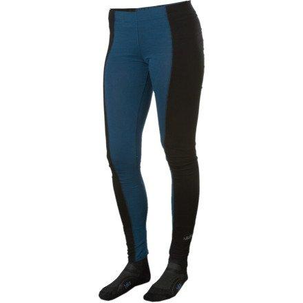 Nikita raphia Legging, ORION Blue/Black