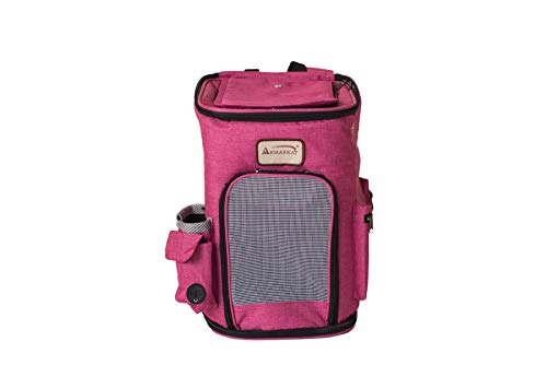 Armarkat Model PC301P Pawfect Pets Backpack Pet Carrier in Pink and Gray Combo