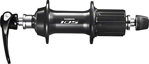 36h Hub (Shimano 105 5800 36h 11-Speed Rear Hub, Black)