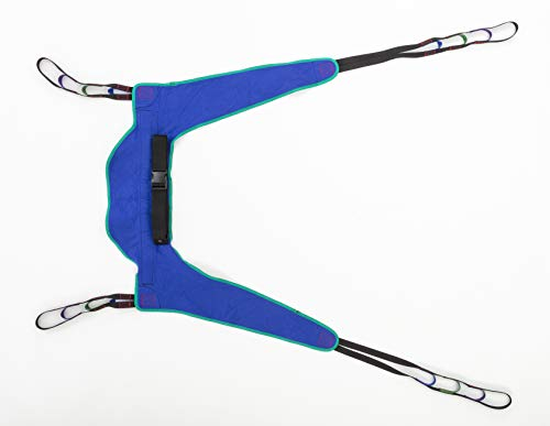 Invacare Toileting Sling for Patient Lifts, Large, Polyester, R121 (Invacare 450 Lift Control)