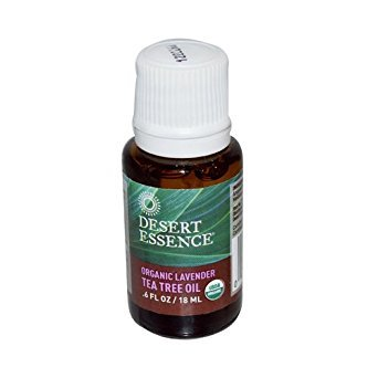 Desert Essence Tea Tree and Lavender Oil, 0.6 Ounce - 6 per case.