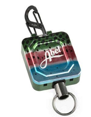 Abel Automatics Fly Fishing USA Zinger Retractorツール B019X1ZPEC One Size|RAINBOW TROUT RAINBOW TROUT One Size