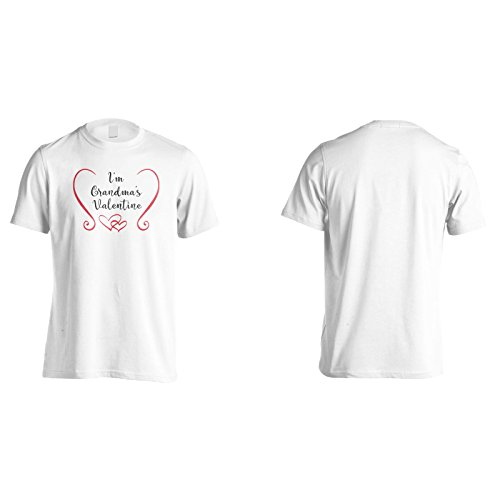 Im Großmutter Valentinstag Herren T-Shirt k787m