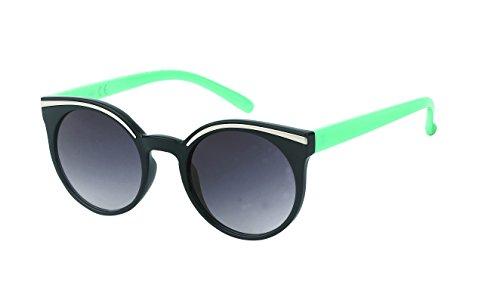 John De Autour Lennon Vintage Verres Soleil Assiette Turquoise Glamour Eye Cat Dames Lunettes Teinté Chic 400uv net gn6BR6S