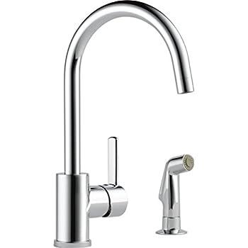 Delta Faucet P199152lf Ss Peerless Apex Single Handle